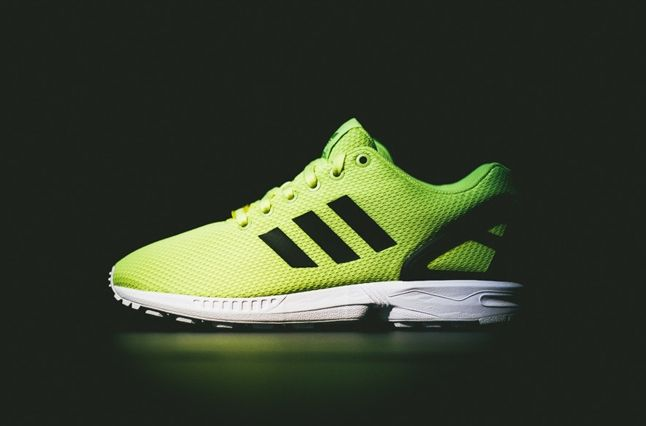Adidas Zx Flux Electric Yellow 7