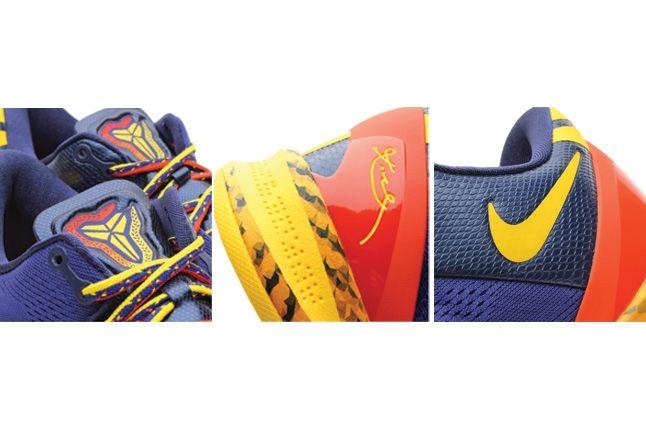 Nike Kobe 8 Deep Royal Yellow Detail2