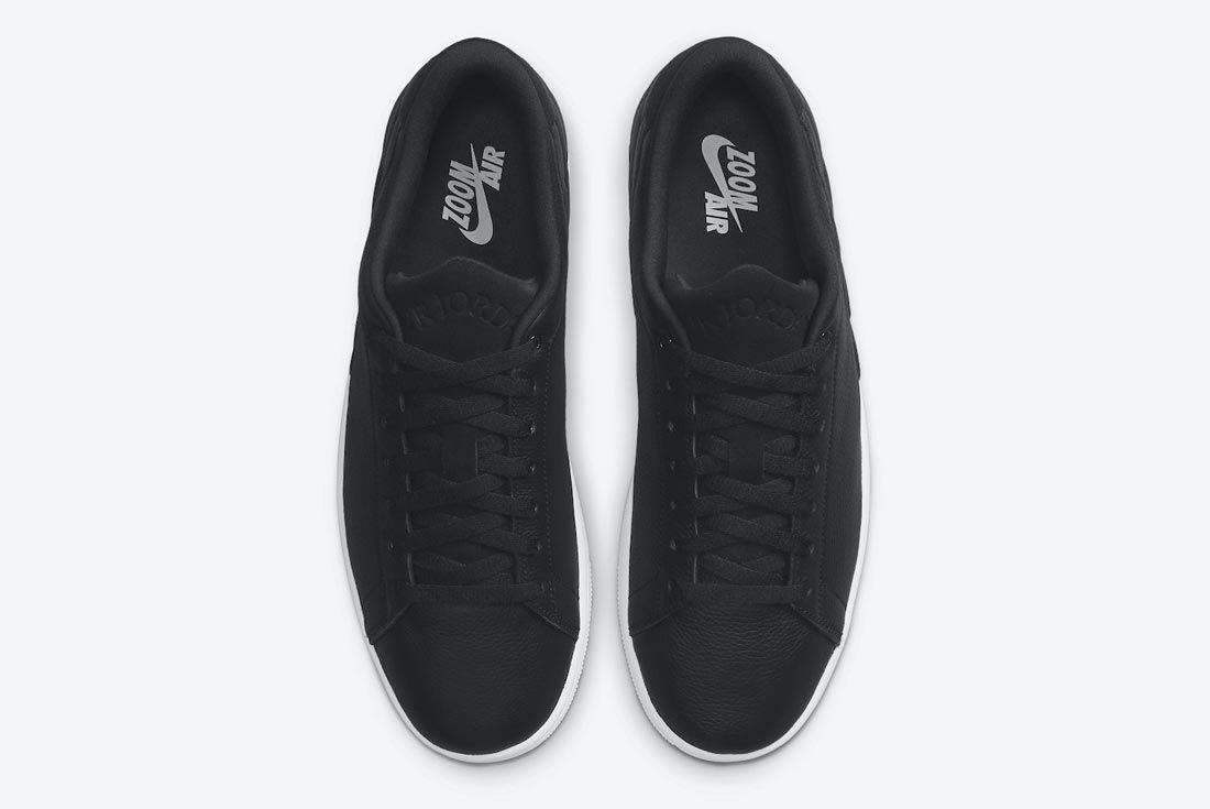 Jordan Centre Court Black/White