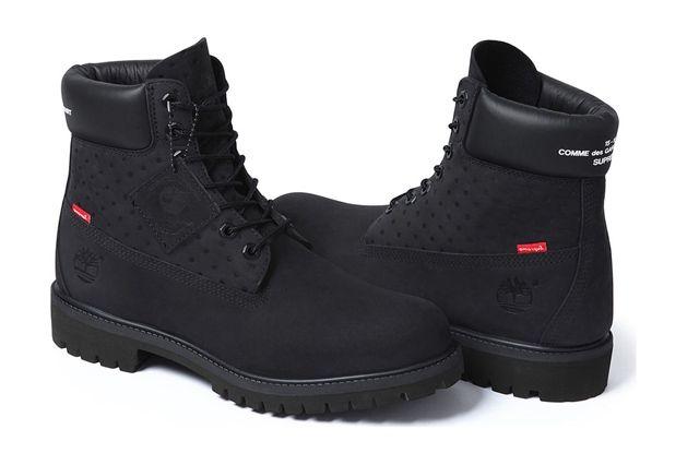 Comme Des Garçons Shirt X Supreme X Timberland 6 Inch Premium Waterproof Boot 1