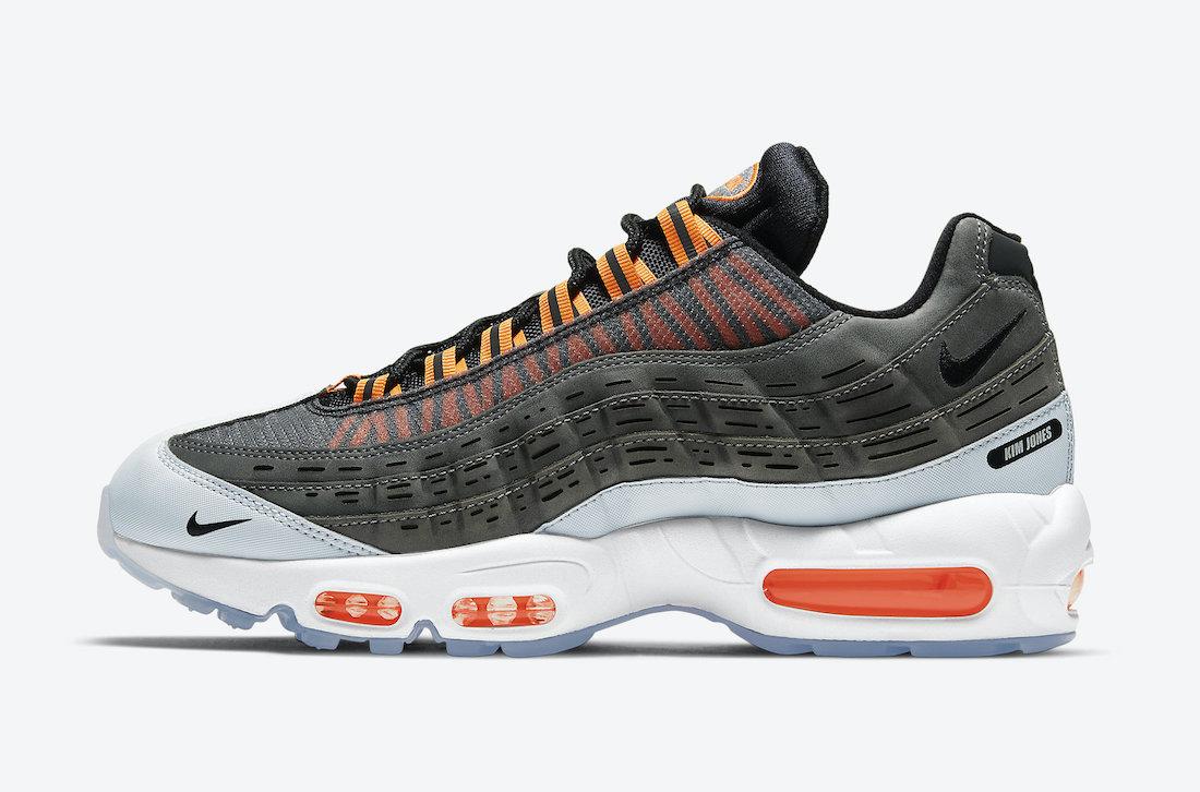 Kim Jones Nike Air Max 95 Total Orange