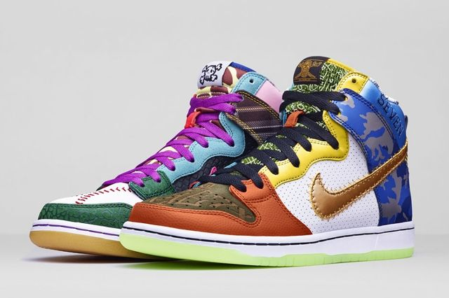 Nike Sb What The Doernbecher 9