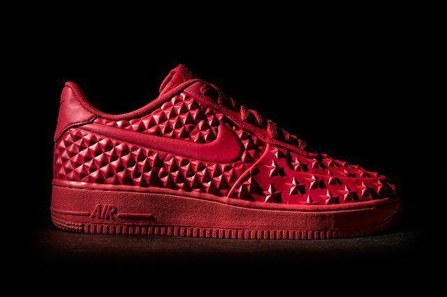 Nike Af1 Lv8 Vt Red Wish Bump 1