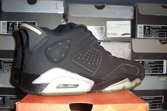 Rebecca Dahms Wmns Basketball Collection Air Jordan 6 Black Low 1