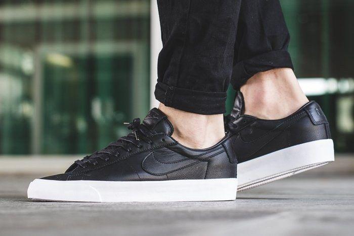 Nike Blazer Low Studio On Foot 3