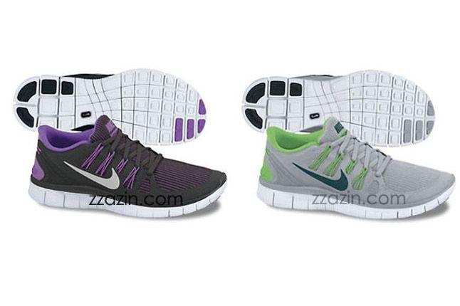 Nike Free Run 4 2013 Grey Purple 1