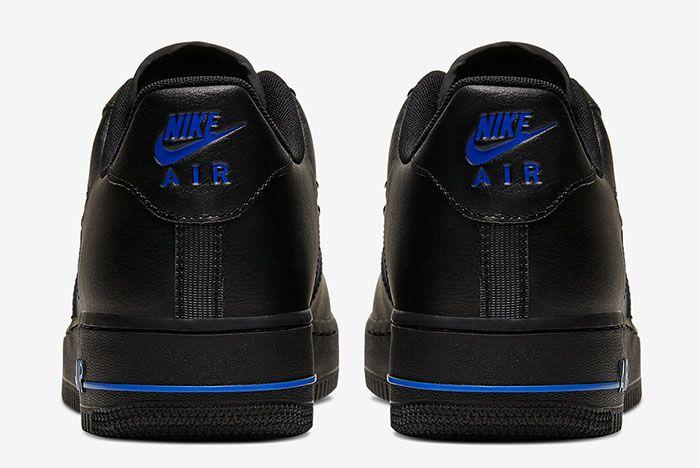 Nike Air Force 1 Low Jewel Black Heel