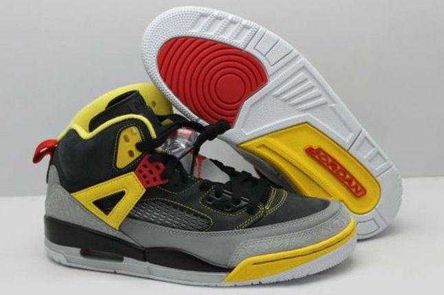 Jordan Spizike 3M Reflective Red Black Yellow Pair 1