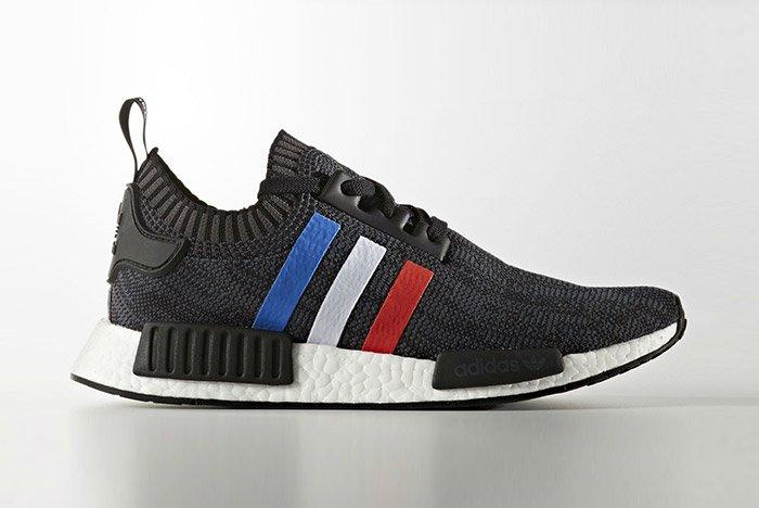 Adidas Nmd Pk Blue Red White Stripes Black 1