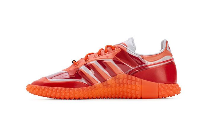 Craig Green Adidas Kamanda Dover Street Market Red Medial Side Shot