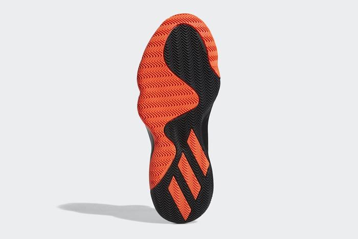 Adidas Don Issue 1 Solar Red Core Black Outsole