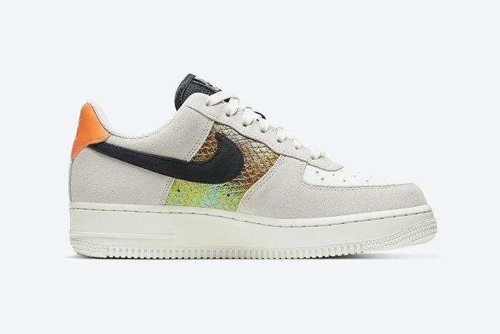 Nike Air Force 1 Snakeskin Medial