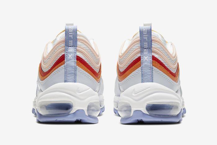 Nike Air Max 97 Peach Heels
