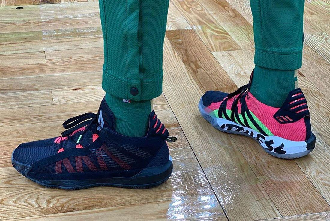 Adidas Dame 6 Heel