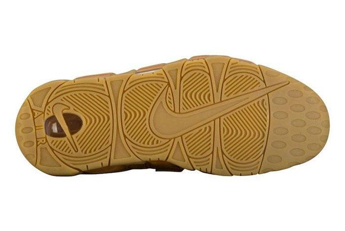 Nike Air More Uptempo Wheat Brown 1