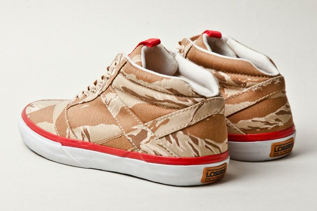 Losers Woodland Camo Brown Tan Red 4 1