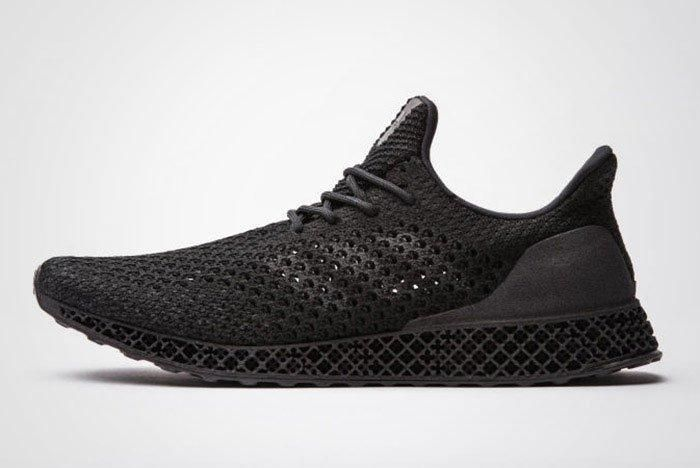 Adidas Futurecraft 3 D Black Public Release Thumb