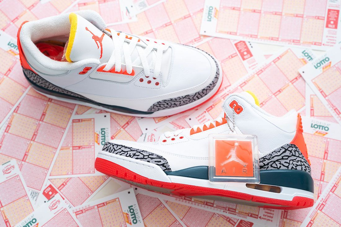Solefly Lotto Air Jordan 3 Best Feature