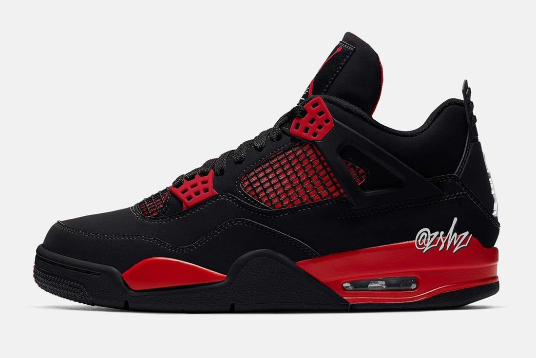 Air Jordan 4 Red Thunder