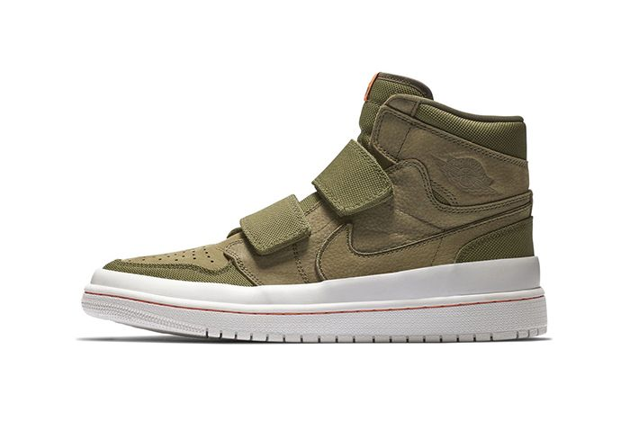 Air Jordan 1 High Double Strap Olive 1