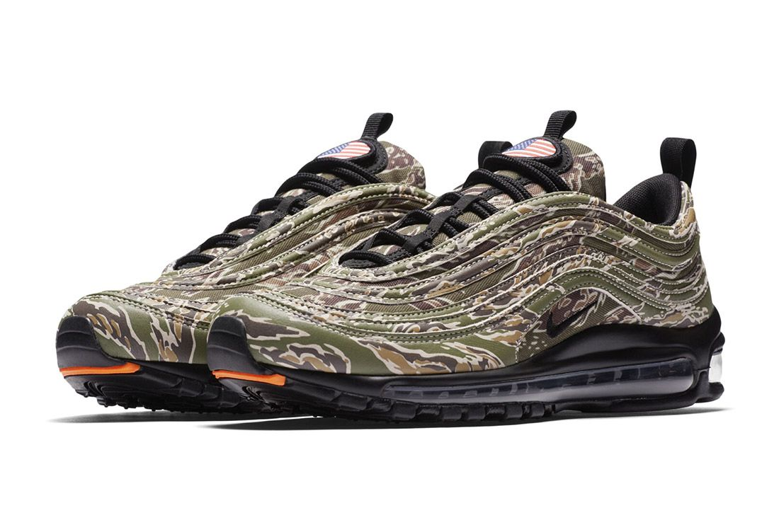 Nike Air Max 97 Country Camo Usa Sneaker Freaker 2