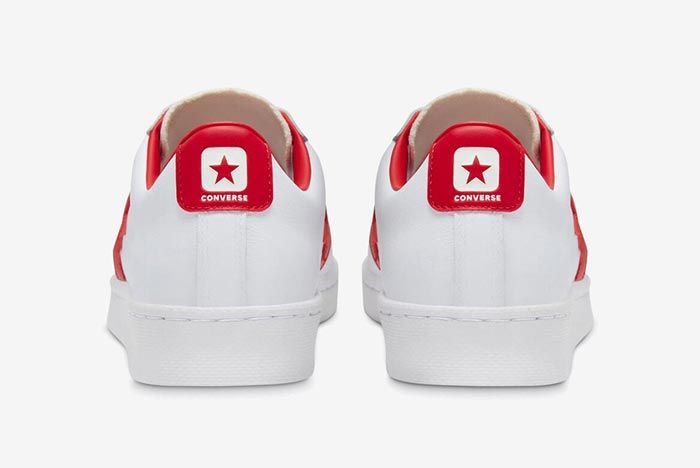 Converse Pro Leather Ox Red Heels