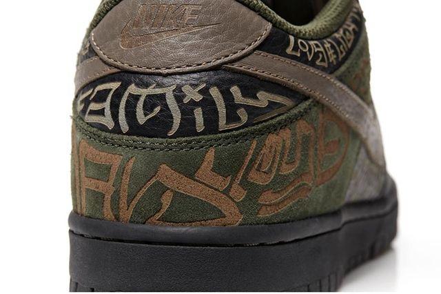 Nike Dunk Low Doernbecher Lance Dillon Heel