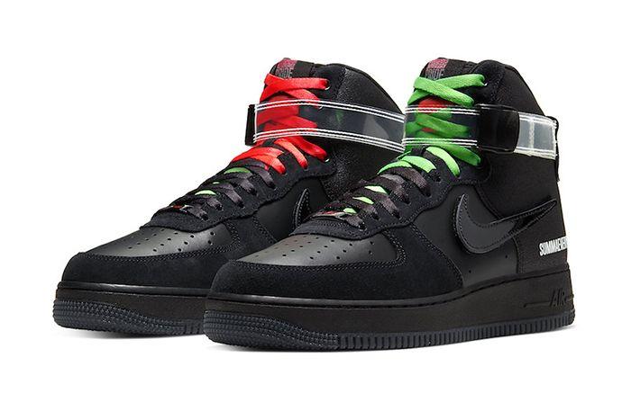 Lauren Halsey Nike Air Force 1 High Cu3052 001 Release Date Pair
