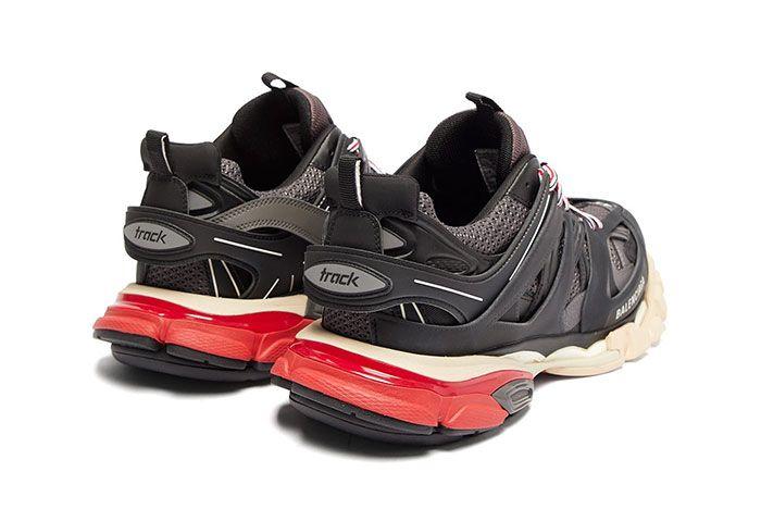 Balenciage Track Sneaker Black Rear