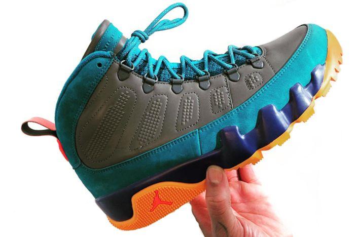 Jordan 9 Nrg Rainbow Sneaker Freaker