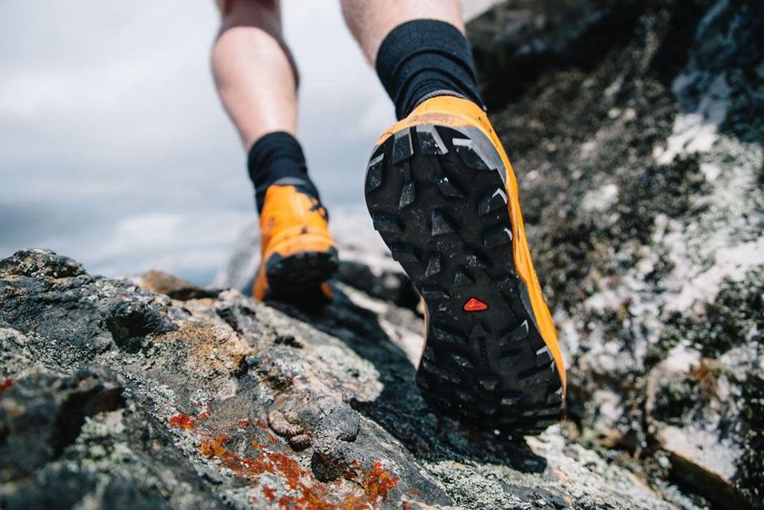 Salomon Hiking Sneakers Heel Climb