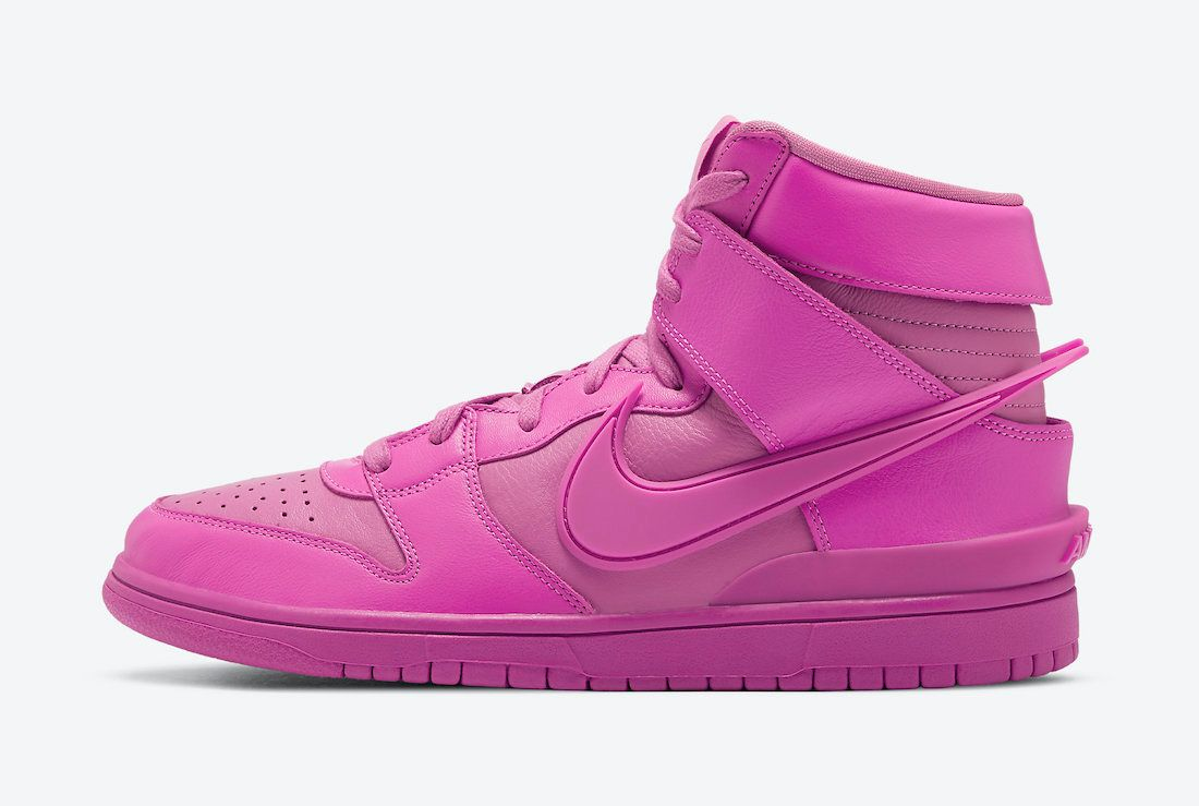 AMBUSH Nike Dunk High Cosmic Fuchsia