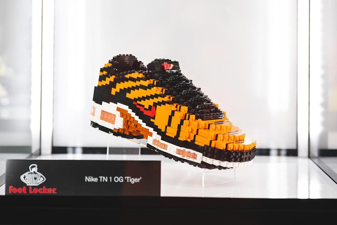 Sneakerness London Event Recap Lego Nike Air Max Plus