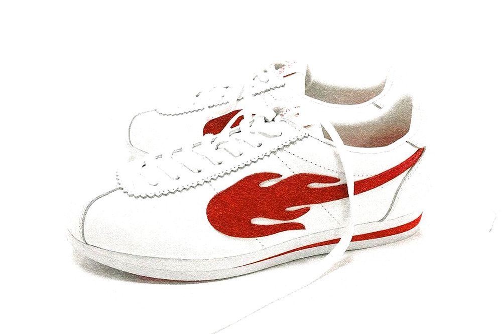 YG 4Hunnid The Flame Sneaker