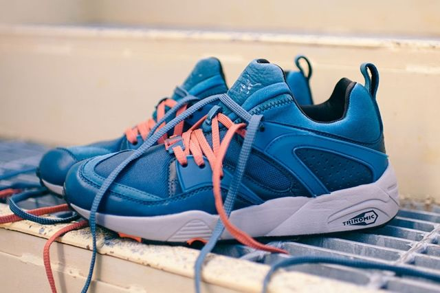 Puma Blaze Of Glory Leather Legion Blue 4