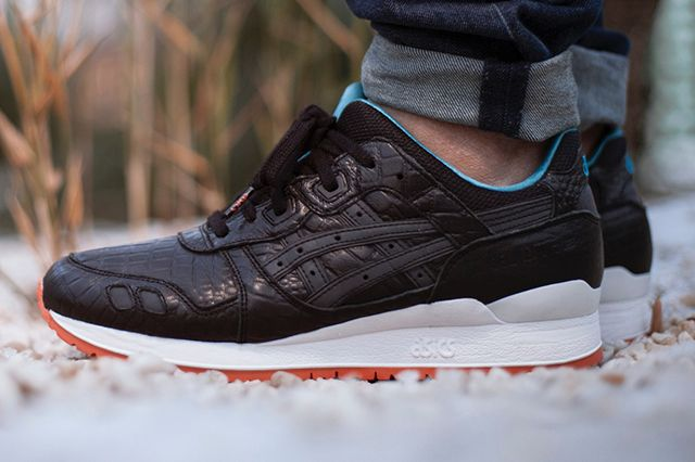Asics Gel Lyte 3 Miami Vice Black Bump Thumb