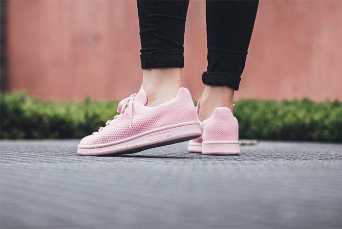 Adidas Stansmith Primeknit Pink 4