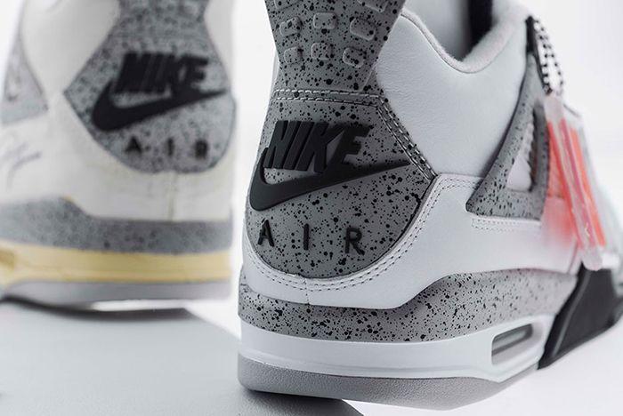 Air Jordan 4 White Cement6