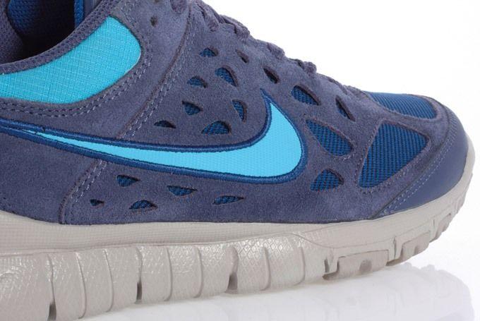 Nike Free Trail Albis Navy Angle
