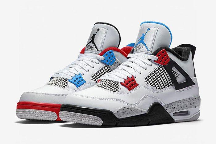 Air Jordan 4 What The Ci1184 1461 Mock Up Pair