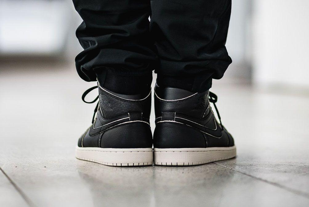 Afew Store Sneaker Air Jordan 1 Retro High Prem Black Black Desertsand 315 Sneaker Freaker