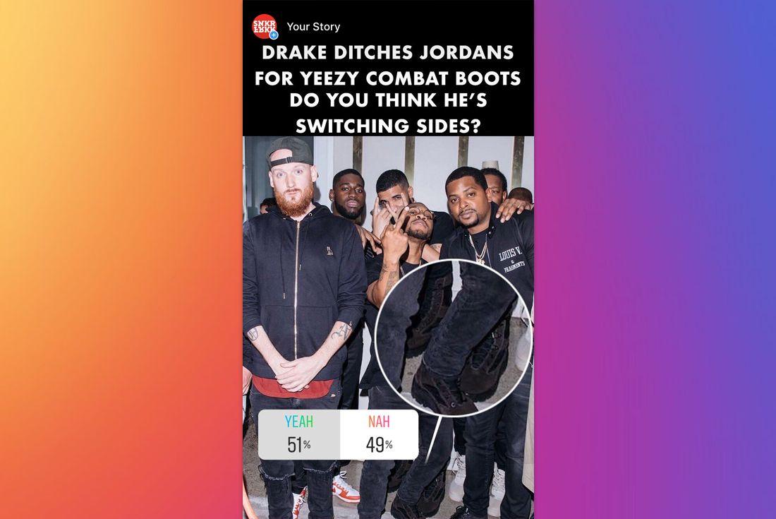 Yeah Nah Drake Yeezy