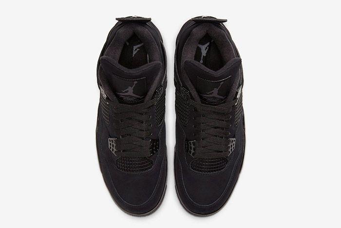 Air Jordan 4 Black Cat Cu1110 010 2020 Top