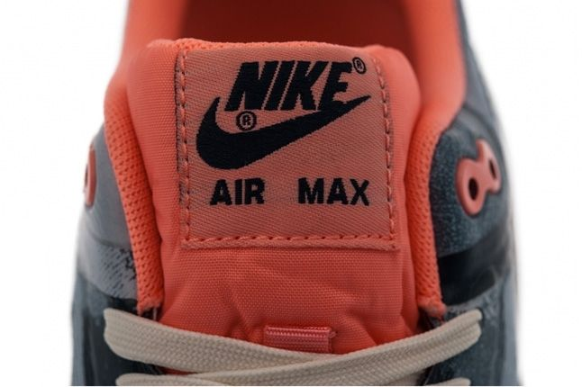 Nike Air Max 1 Premium Tape Atomic Pink Camo Side Tongue 1