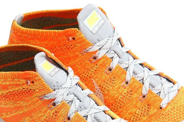 Nike Flyknit Trainer Chukka Fsb Total Orange 5