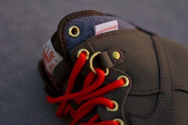 Nike Air Force One Duckboot Dark Loden