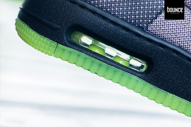 Nike Air Force 1 Vt Jacquard Grey Volt 4