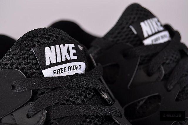 Nike Free Run 2 Blackout 3
