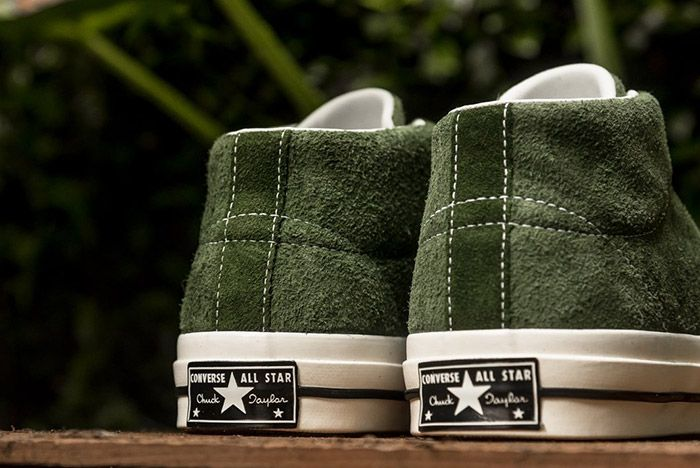 Converse One Star Mid Shadow Green 3