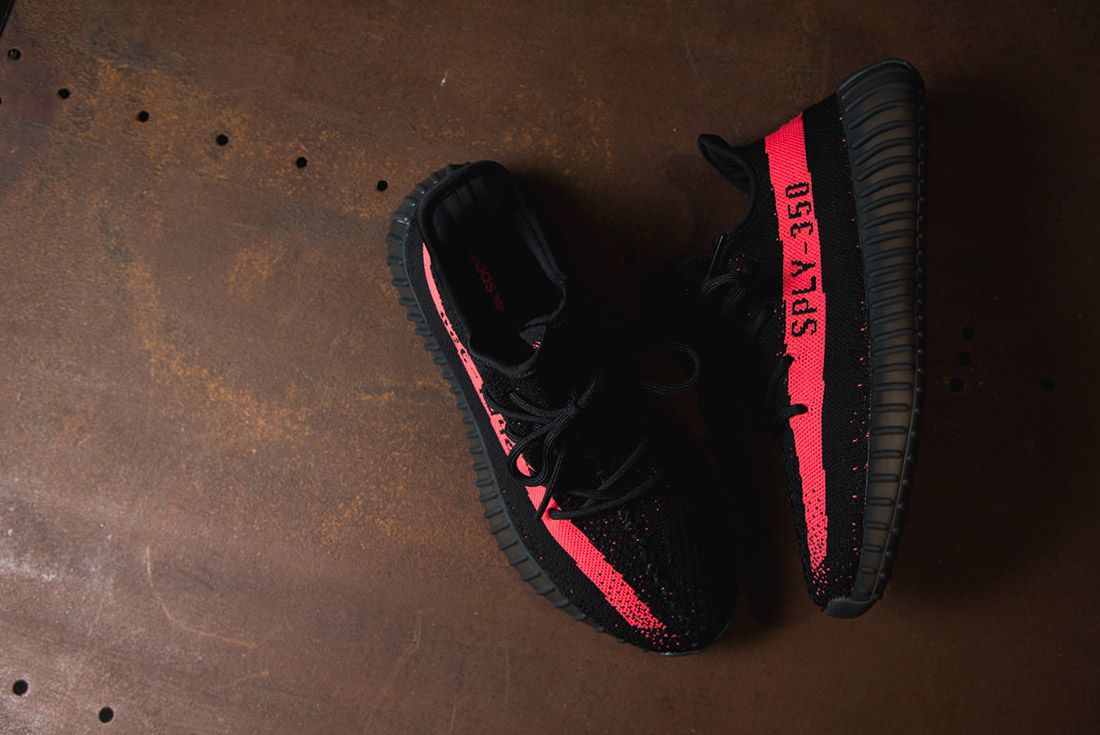 Adidas Originals Yeezy Boost 350 V2 Black Copper Solar Red Green 65